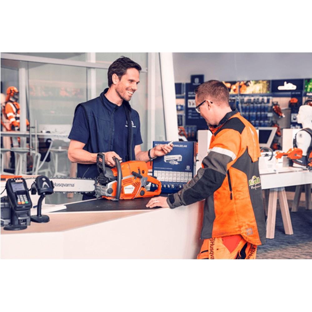 Сервисное обслуживание, поддержка и решения для бизнеса от Husqvarna
