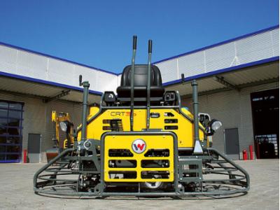 Затирочная машина Wacker Neuson CRT 36-26A-WK - комфорт и высокая производительность в одной машине!